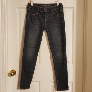 American Eagle skinny jeans Jegging Ankle sz 2